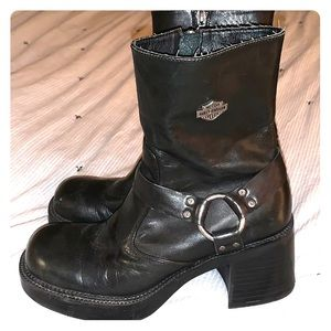 Harley-Davidson Zip-up Boots